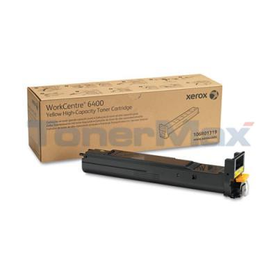 XEROX WORKCENTRE 6400 TONER CTG YELLOW 16.5K